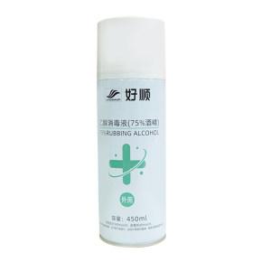 HaoShun 75% Rubbing Alcohol 450ML