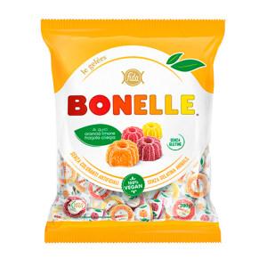 FIDA Bonelle fruit candy in bag (various flavors: strawberry, lemon, orange, cherry) 400g